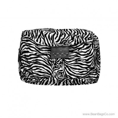 5- Foot Mod Pod Classic Bean Bag Chair - Zebra Animal Print Lounger