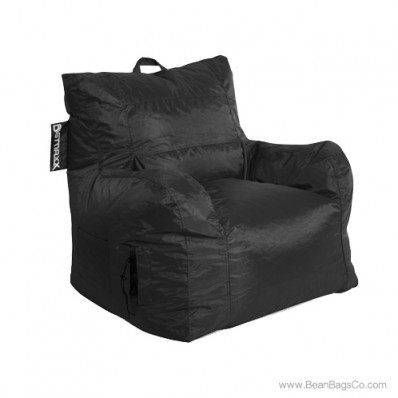 Big Maxx Medium Bean Bag Chair - Black