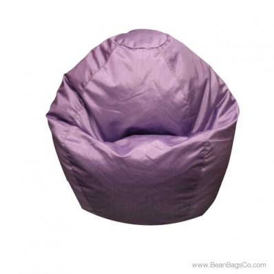 Small Classic Bean Bag Chair - PVC Vinyl Lilac