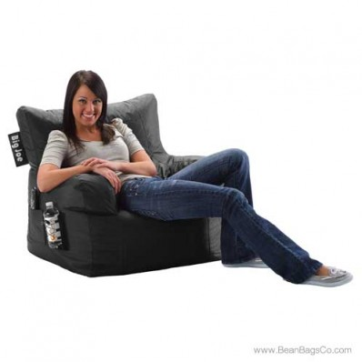 Big Joe Dorm Chair - Stretch Limo Black
