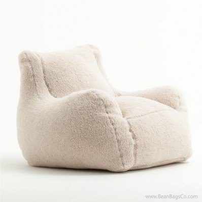 Big Joe Lusso Bean Bag Chair - Sherpa