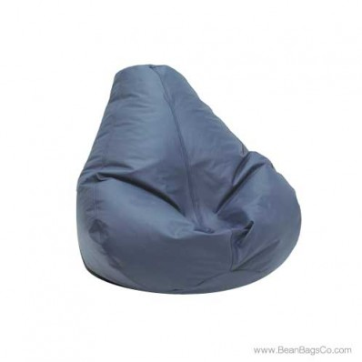 Lifestyle Extra Large Pure Bead Bean Bag Chair - Cobalt Blue