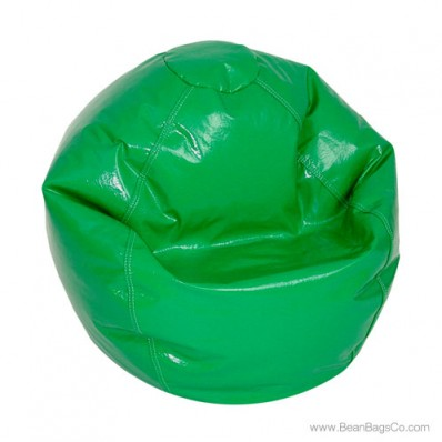 Fun Factory Junior Bean Bag Chair- Pure Bead Wetlook Green