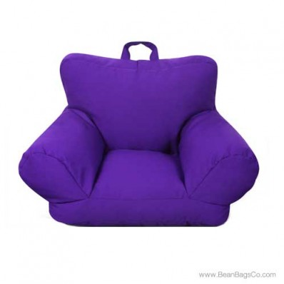 Junior FX Jr. Bean Bag Arm Chair - Purple
