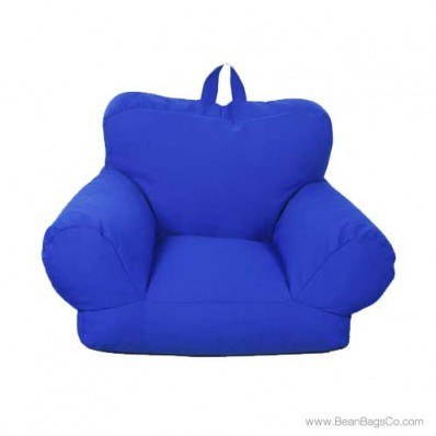 Junior FX Jr. Bean Bag Arm Chair - Royal Blue