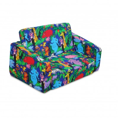 Junior FX Tot Bean Bag Sofa - Jungle