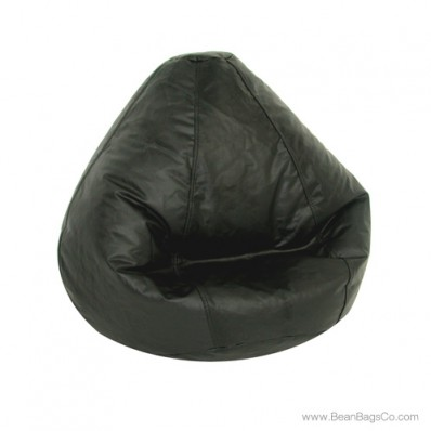 Lifestyle Pure Bead Large Bean Bag Chair - Black