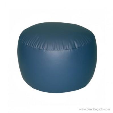 Lifestyle Bigfoot Footstool Mixed Bead Bean Bag - PVC Vinyl Navy Blue
