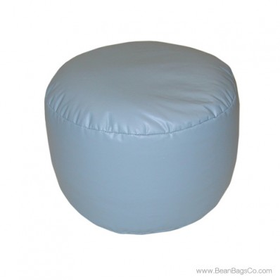 Lifestyle Bigfoot Footstool Mixed Bead Bean Bag - PVC Vinyl Wedgewood