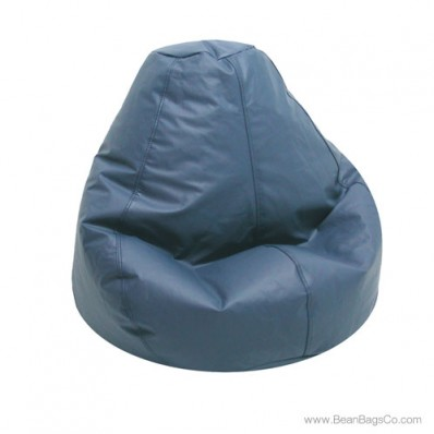 Lifestyle Pure Bead Bean Bag Chair - PVC Vinyl Wedgewood