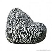 2- Seater Sitsational Bean Bag Chair- Animal Print Lounger