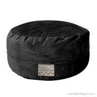 5- Foot Mod Pod Classic Bean Bag Chair - Deluxe Cord Black Lounger