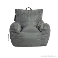Big Maxx Medium Bean Bag Chair - Gray