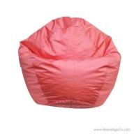 Small Classic Bean Bag Chair - PVC Vinyl Rose