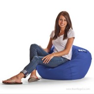 "Big Joe 98"" Bean Bag Chair - SmartMax Sapphire"