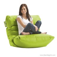 Big Joe Roma Bean Bag Chair - Spicy Lime