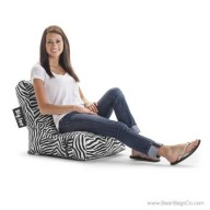 Big Joe Video Bean Bag Chair - Zebra Lounger