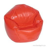 Fun Factory Junior Bean Bag Chair- Pure Bead Wetlook Red