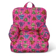 Junior FX Tot Bean Bag Arm Chair - Zebra Love