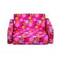 Junior FX Tot Bean Bag Sofa - Flower Power