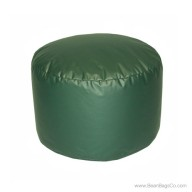 Lifestyle Bigfoot Footstool Mixed Bead Bean Bag - PVC Vinyl Spruce Green