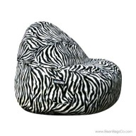 2- Seater Sitsational Bean Bag Chair- Animal Print Lounger