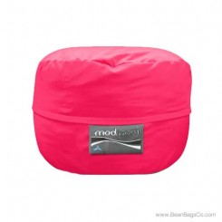 3- Foot Junior Mod Pod Bean Bag Chair- Poly Cotton Hot Pink Lounger