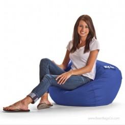 "Big Joe 98"" Bean Bag Chair - SmartMax Sapphire"