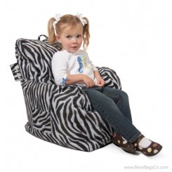 Big Joe Cuddle Bean Bag Chair - Zebra