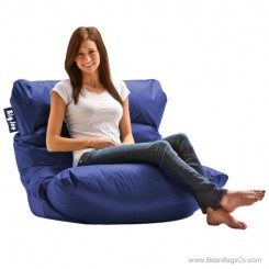 Big Joe Roma Bean Bag Chair - Sapphire