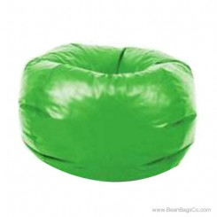 Classic Vinyl Bean Bag Chair - Lime