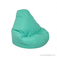 Lifestyle Extra Large Pure Bead Bean Bag Chair - Aqua