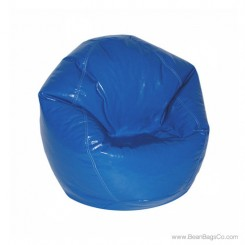 Fun Factory Junior Bean Bag Chair- Pure Bead Wetlook Dark Blue