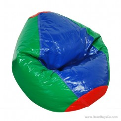 Fun Factory Junior Bean Bag Chair- Pure Bead Wetlook Multicolor