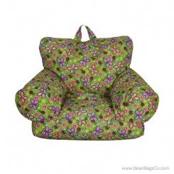 Junior FX Jr. Bean Bag Arm Chair - Happy Butterfly