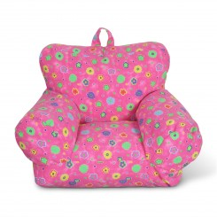 Junior FX Jr. Bean Bag Arm Chair - Pink Flower