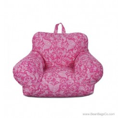Junior FX Jr. Bean Bag Arm Chair - Pink Paisley