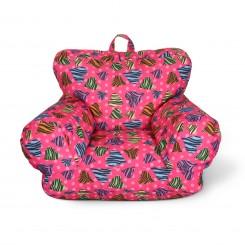 Junior FX Jr. Bean Bag Arm Chair - Zebra Love
