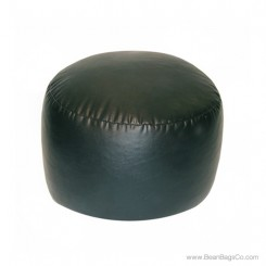 Lifestyle Bigfoot Footstool Mixed Bead Bean Bag - PVC Vinyl Black