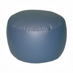 Lifestyle Bigfoot Footstool Mixed Bead Bean Bag - PVC Vinyl Cobalt Blue