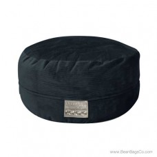 5- Foot Mod Pod Classic Bean Bag Chair- Deluxe Cord Midnight Lounger
