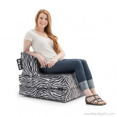 Big Joe Flip Bean Bag Chair - SmartMax Zebra Lounger
