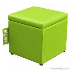 "Big Joe 15"" Square Ottoman Bean Bag Chair - Spicy Lime"
