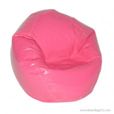 Fun Factory Junior Bean Bag Chair- Pure Bead Wetlook Hot Pink