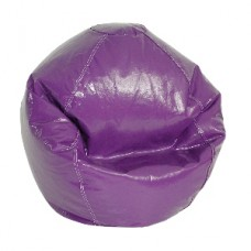 Fun Factory Junior Bean Bag Chair- Pure Bead Wetlook  Purple Grape