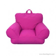Junior FX Jr. Bean Bag Arm Chair - Hot Pink