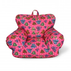 Junior FX Jr. Bean Bag Arm Chair - Zebra Love