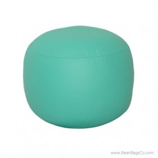Lifestyle Bigfoot Footstool Mixed Bead Bean Bag - PVC Vinyl Aqua