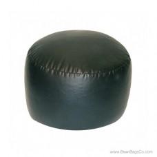 Lifestyle Bigfoot Footstool Mixed Bead Bean Bag - PVC Vinyl Black