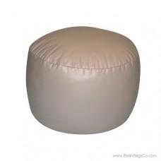 Lifestyle Bigfoot Footstool Mixed Bead Bean Bag - PVC Vinyl Cobblestone